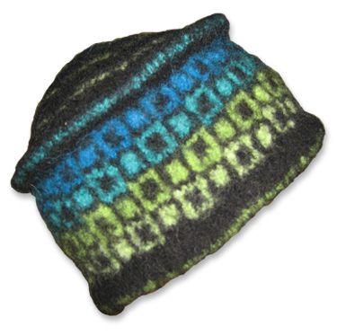 Easy Mosaic Pillow Knitting Pattern   Momogus Knits   instant PDF ...