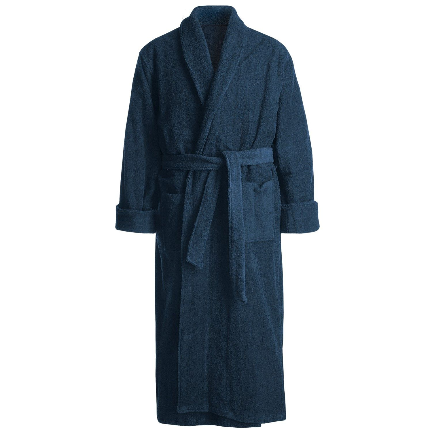 Turkish Cotton Terry Robe - mens 69cf69dca
