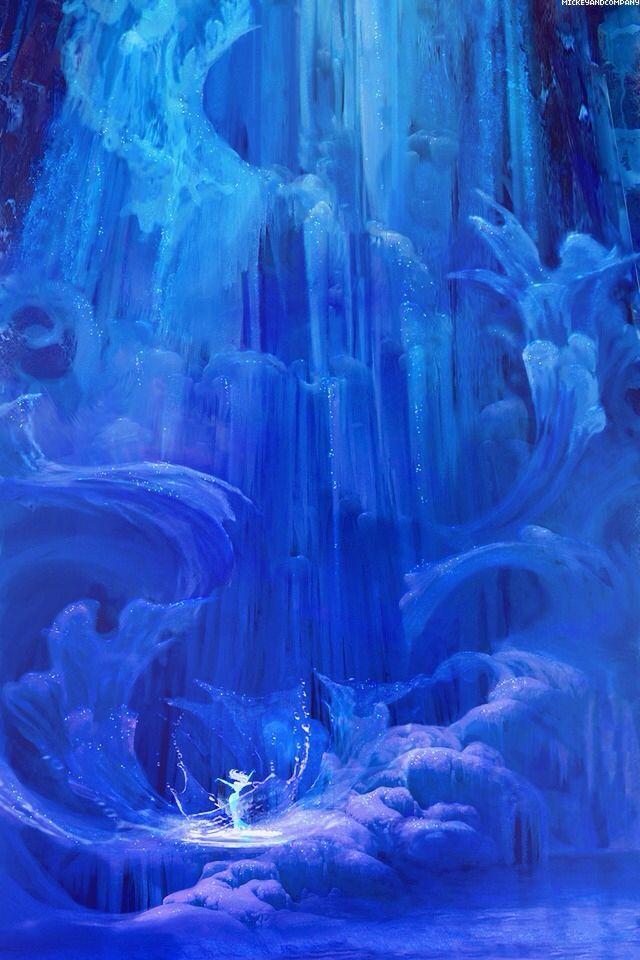 Frozen concept art disney wallpaper elsa Disney