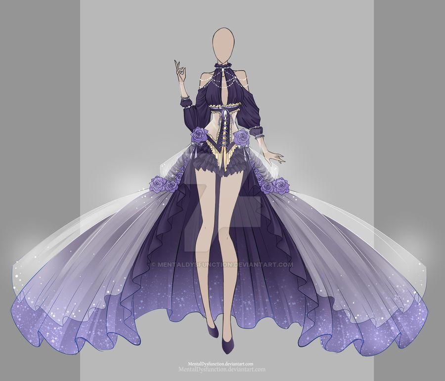 衣類のスケッチ, ファッションのスケッチ, ドレスの絵, 服の描き方