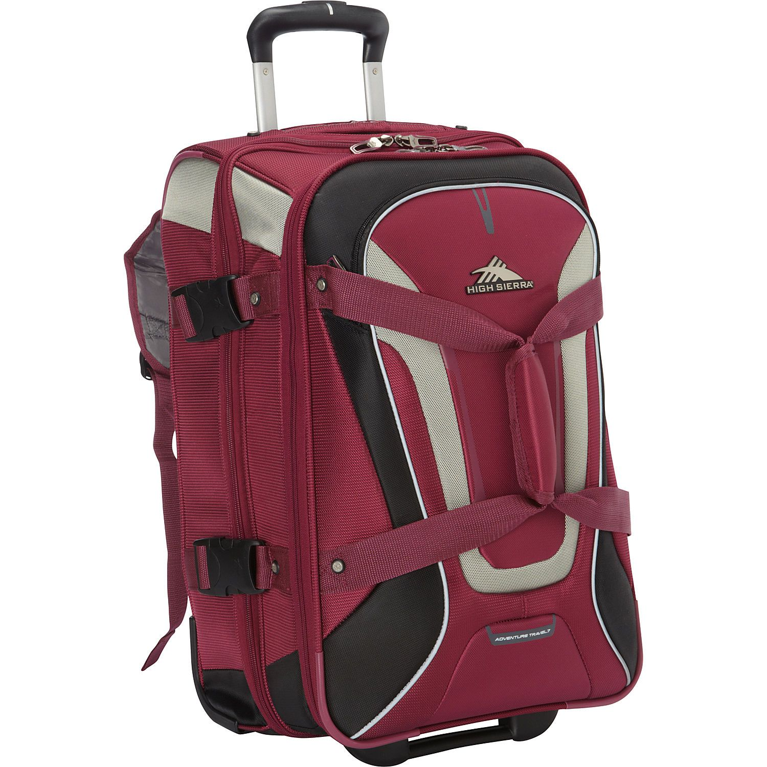 High Sierra Wheeled Duffel Backpack- Fenix Toulouse Handball 4bfebd038081f