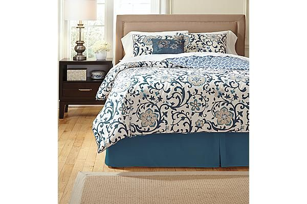 Ashley Furniture Blue Bedding Sets Home Decor