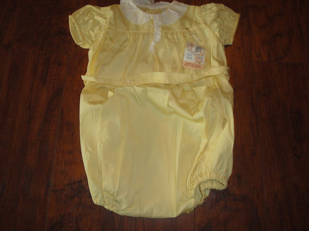 6452ca81819b VINTAGE 1950s BABY INFANT ROMPER SUNSUIT NEW WITH TAGS Tic Toc Baby Wear  Dolls  tictocbabywear  Everyday