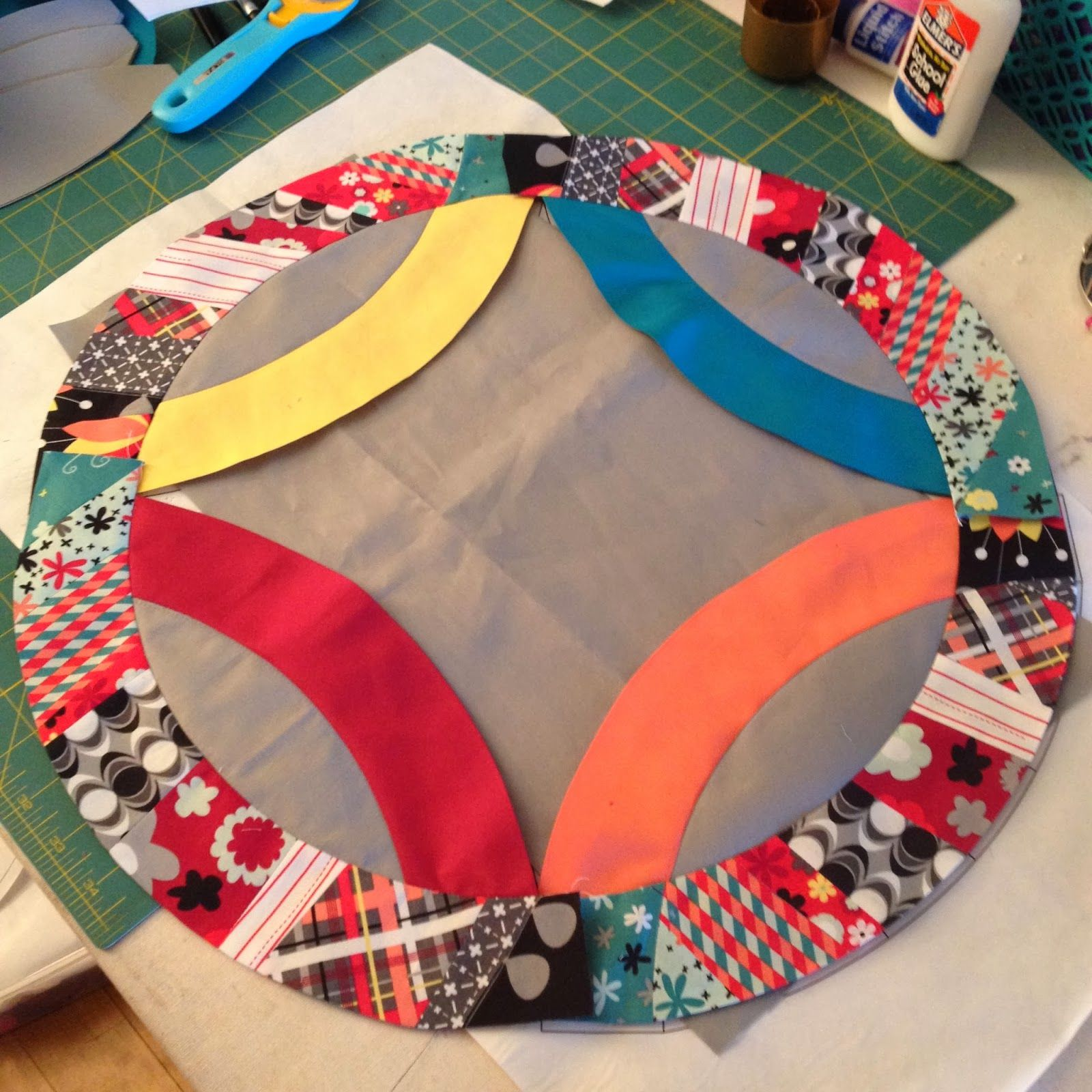 Double Wedding Ring Quilt Along Wedding ring quilt