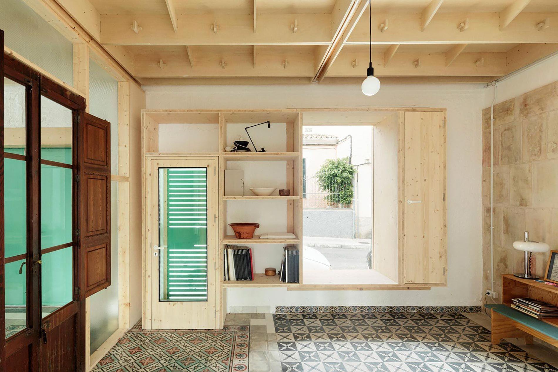 PLYWOOD nel 2020 Case di legno, Interni, Maiorca