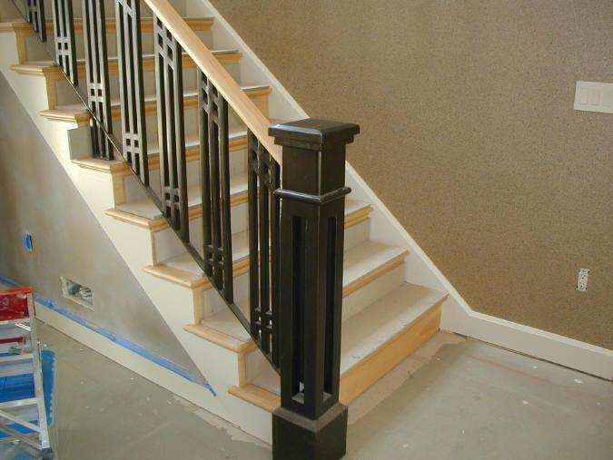 Best Beautiful Iron Stairs Railing 2 Interior Stair Railings 400 x 300