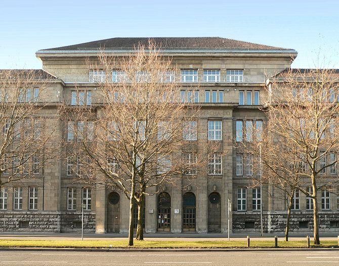Peter Behrens - Continental AG an der Vahrenwalder Straße in Hannover