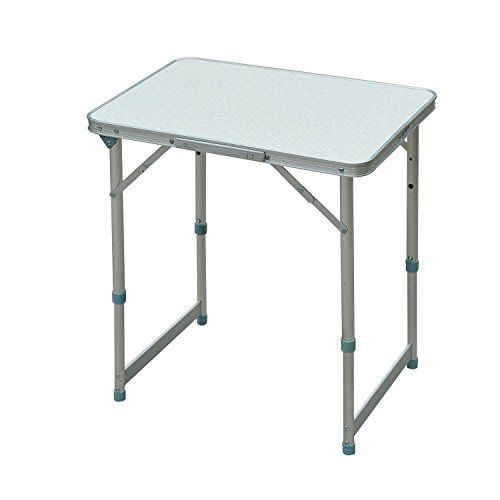 Perfect For Tailgating, Camping, Or Any Special Occasion The Outsunny  Aluminum Camping Table Is Ready When You Are. Featuring An EZ Carry Handle,  A