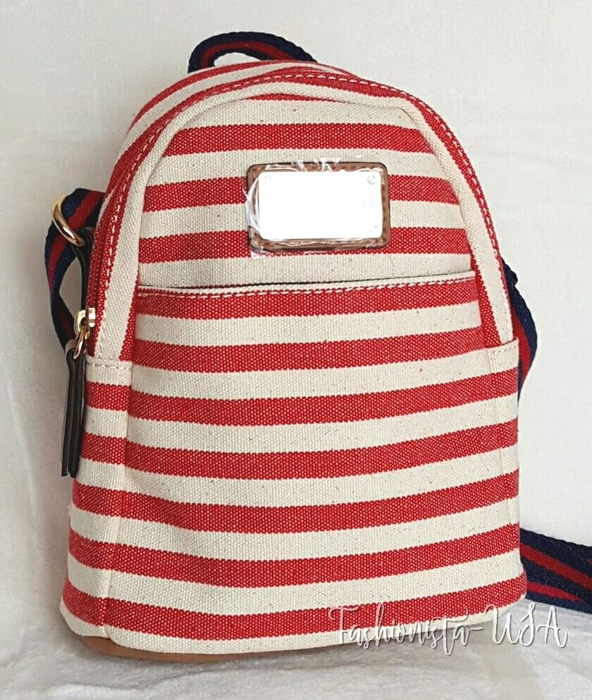 94c3dbd90 Striped Canvas Mini Backpack | The Shred Centre