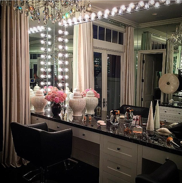 Khloe Kardashian's Glam Room Can Only Be Described As