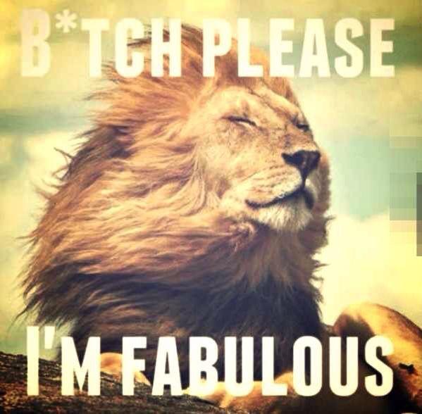 Bitch please... I'm Fabulous!