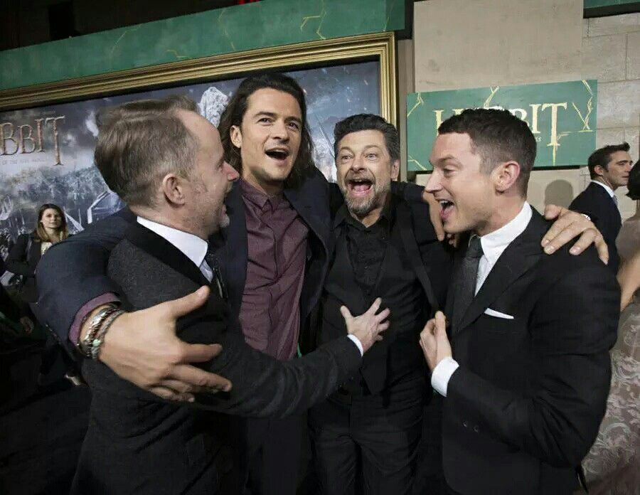 Elijah, Andy, Orlando and Billy