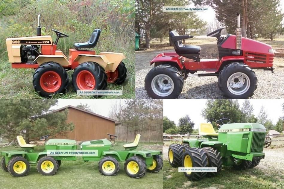 Image result for home built articulated tractor – Articulated Garden Tractor Plans