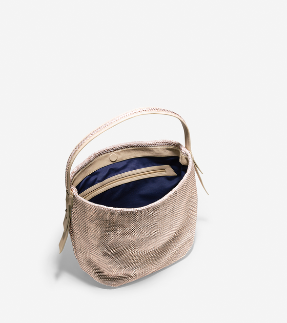 abe19d1732c Bethany Weave Large Bucket Hobo Large Bucket, Cole Haan, Louis Vuitton  Damier, Weave