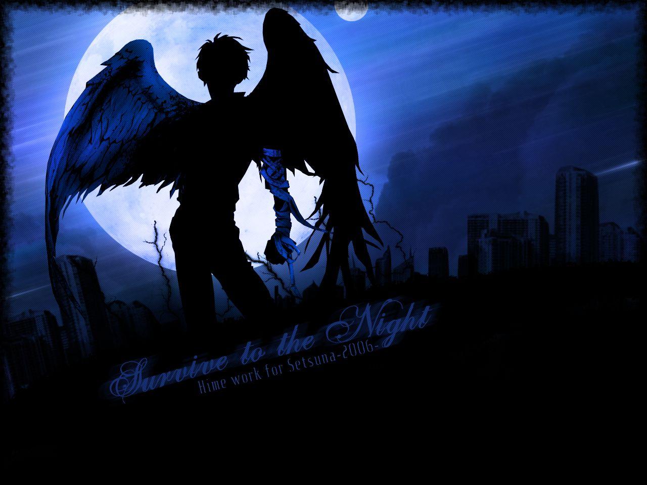Anime Angel Sanctuary Wallpaper Anime Art Beautiful Dark Anime Anime Fallen Angel Dark angel anime wallpaper