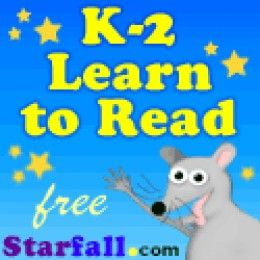 kids learn to read using starfall