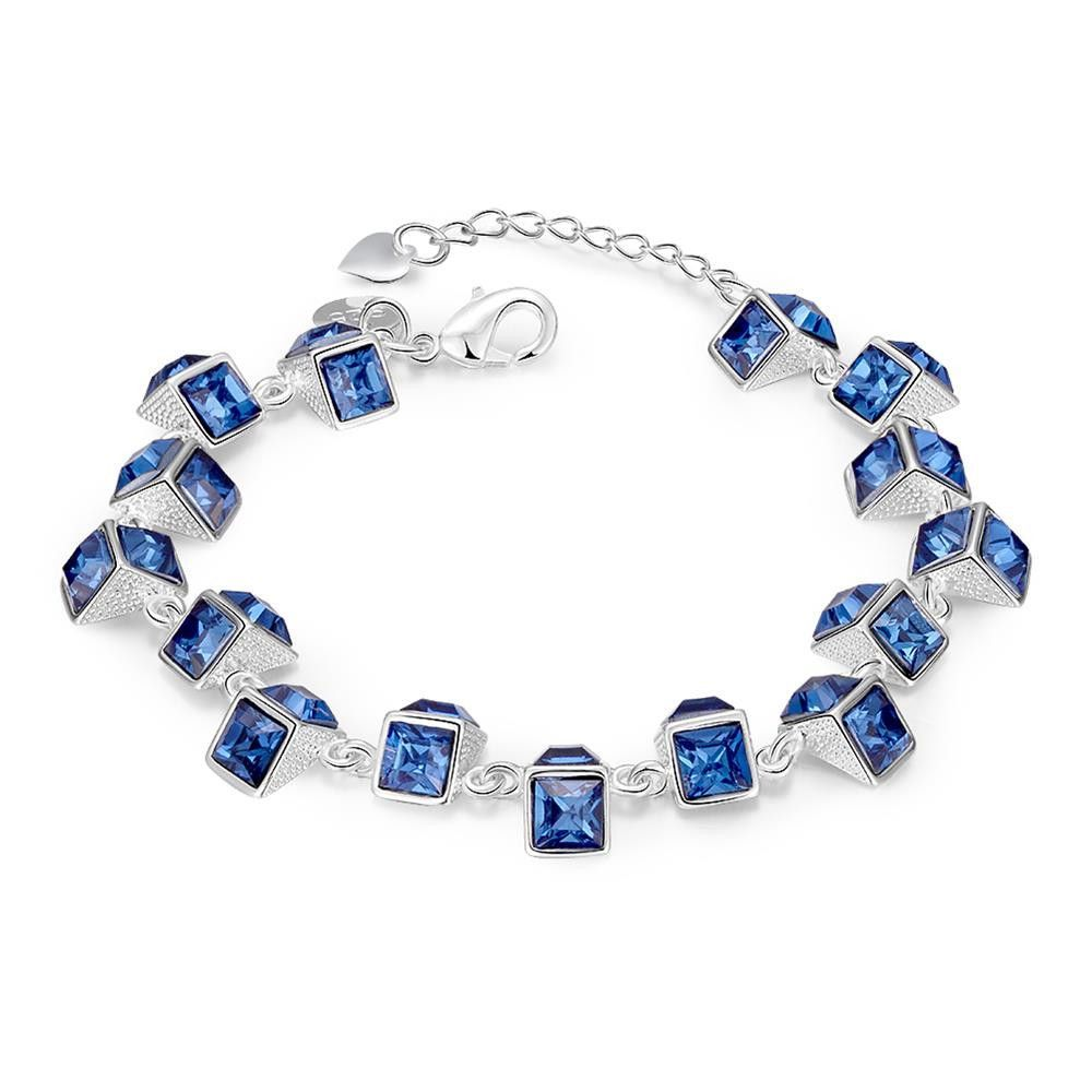 Latest women classy design silver plated bracelet products classy