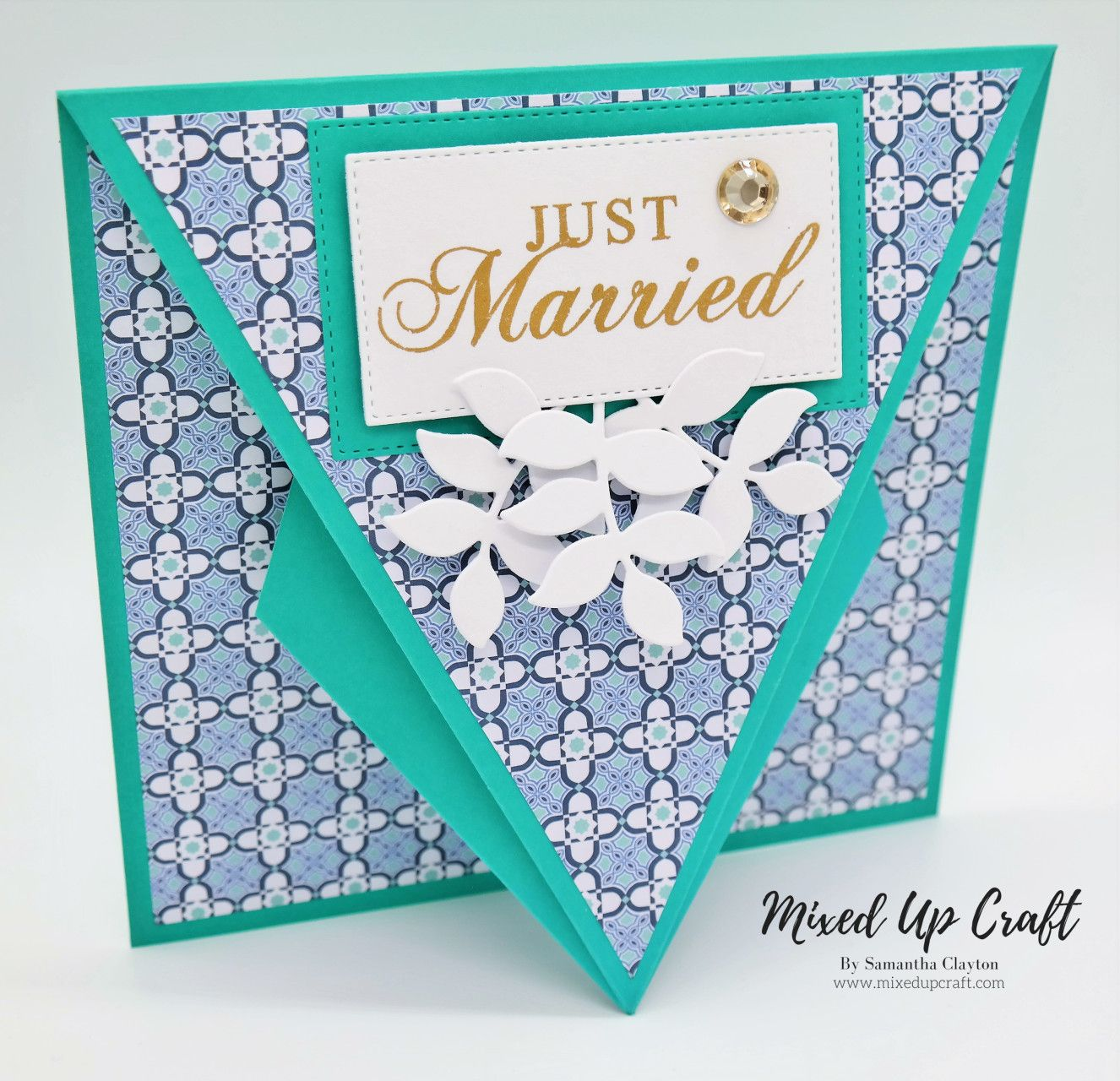 Arrow Fold Card Drapery Fold Cards Shaped Cards Hand Made Greeting Cards