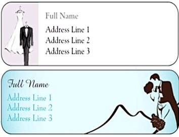 FREE Wedding Return Address Labels Just Pay Sh Use Them For - Wedding invitation templates: wedding address label template