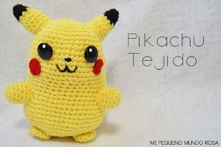 Pikachu amigurumi from 53stitches.tumblr.com. Aurora would loooove ... | 213x320
