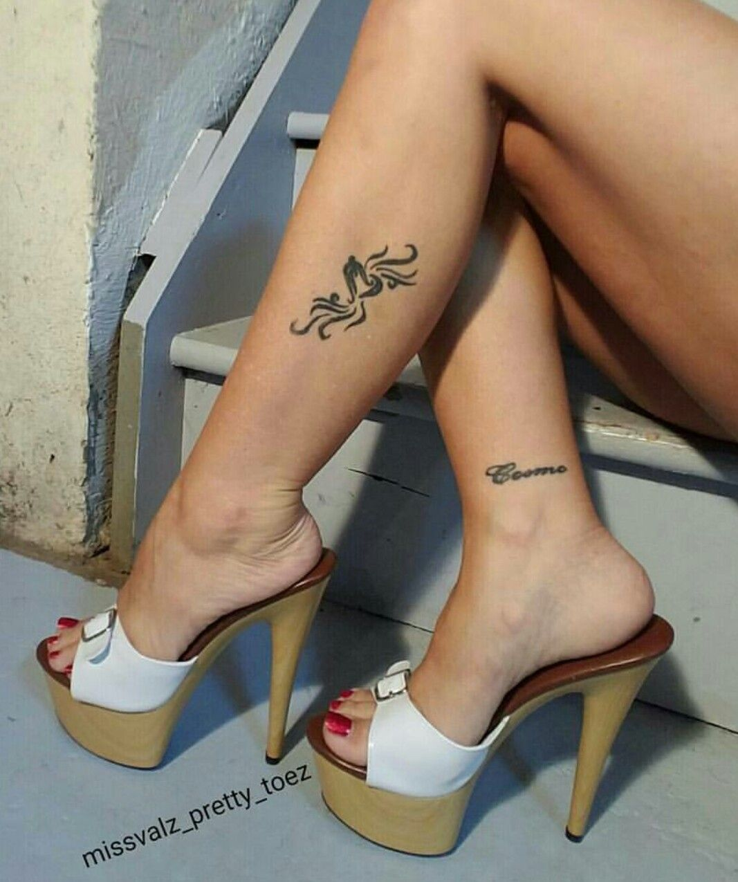 Clear Shoes High Heels Milf