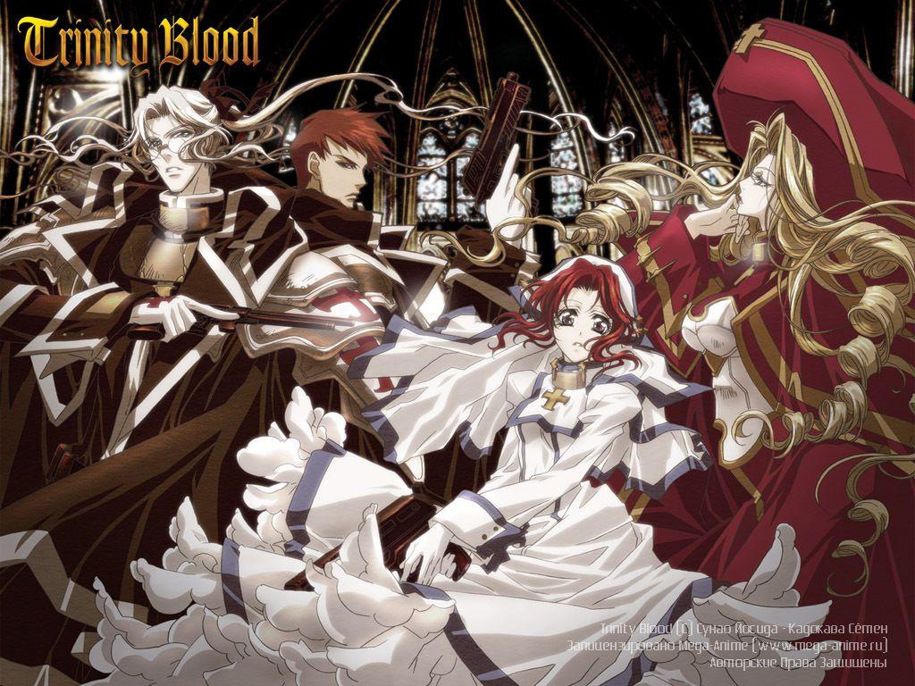 Pin on Trinity Blood