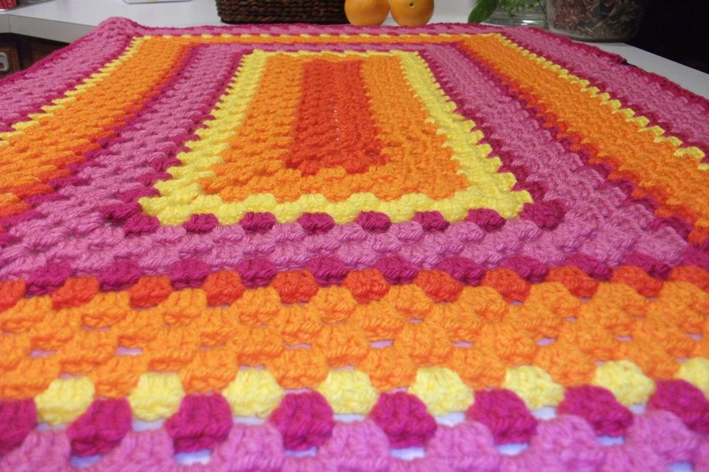 Ravelry: Stained Glass Window Afghan #156 by Patons