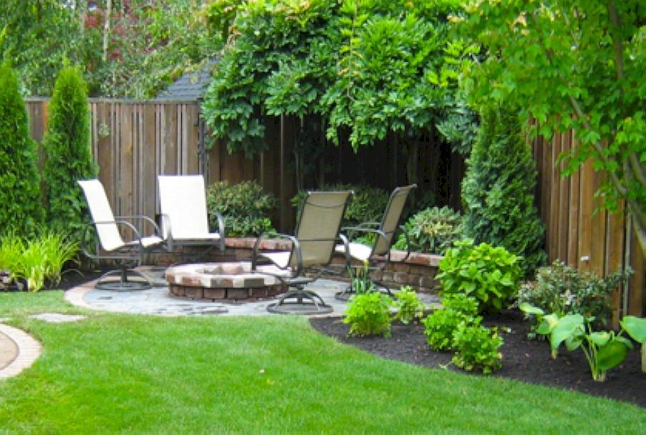 Simple And Easy Backyard Landscaping Ideas 38