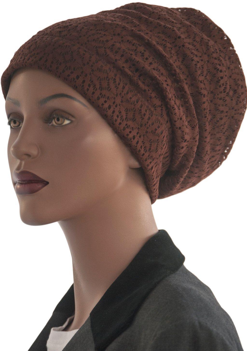 Loc Soc Dread Lock Sock Brown Stretch Lace Hair Dreadlock Drea Headband Hat Accessory Handmade By Coveredlasdesigns On
