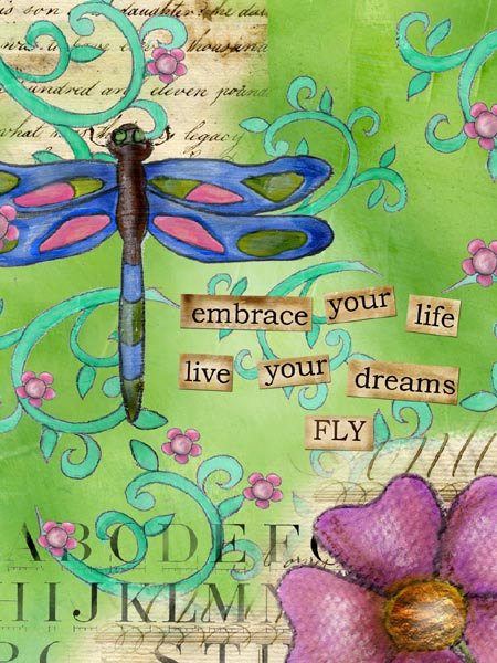 Inspiration for the graduate   https://www.etsy.com/listing/209376485/embrace-your-life-big-print