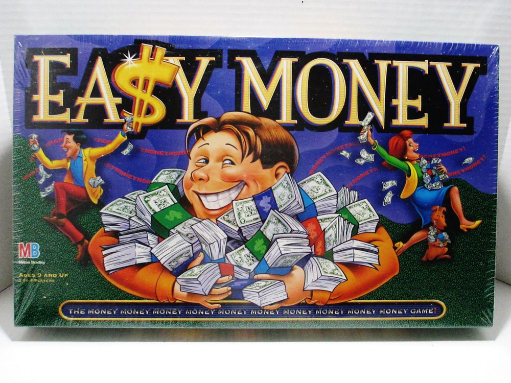 Easy Money Board 1996 Milton Bradley Toy Great Gift Wall Street New Sealed Miltonbradley Visit All Of Our Online Locations
