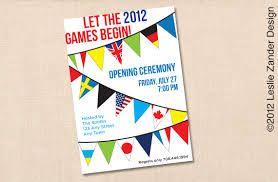 Olympic Party Invitation Template Shilohmidwifery Com