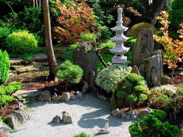 Création de jardin de style asiatique ou campagnard et leurs