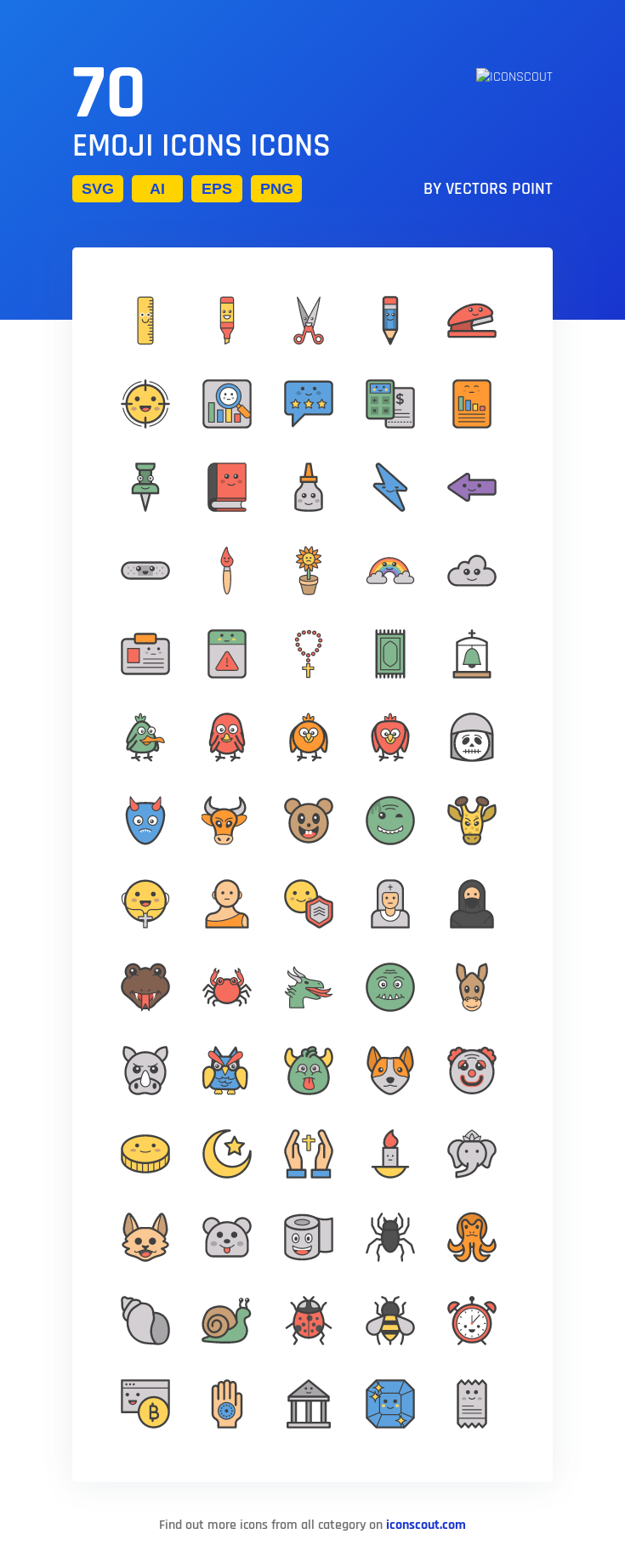 Download Emoji Icons Icon pack Available in SVG, PNG