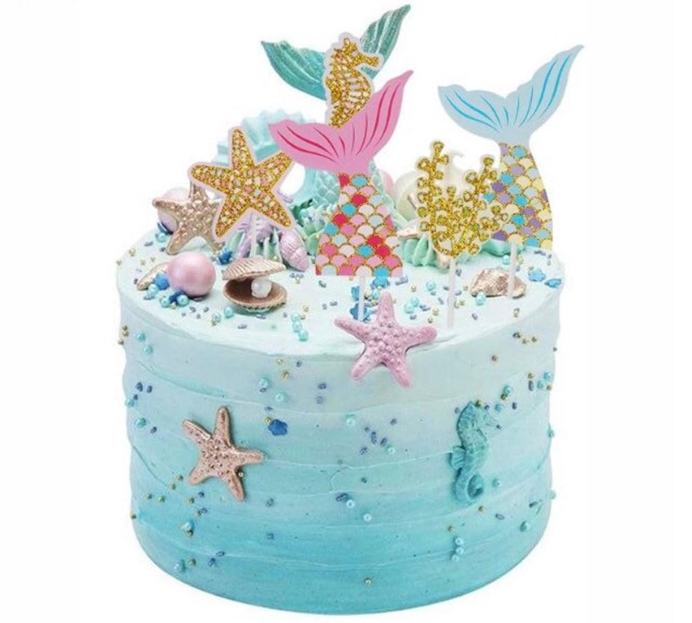 Little Mermaid Cake Decorating Supplies  from i.pinimg.com
