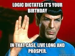 Star Trek Happy Birthday Google Search