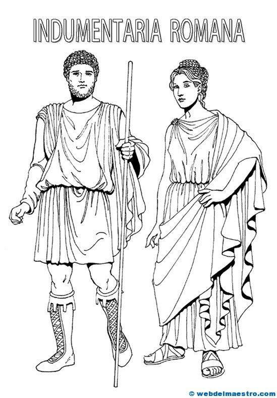 Dibujos de romanos | Roma Antigua | Pinterest | Rome, Ancient Rome y ...