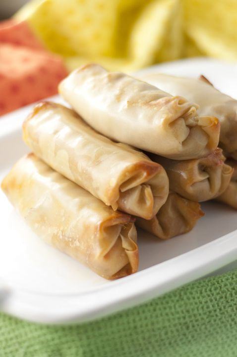 Photo of Philly Cheesesteak Baked Egg Rolls | Wishes and Dishes