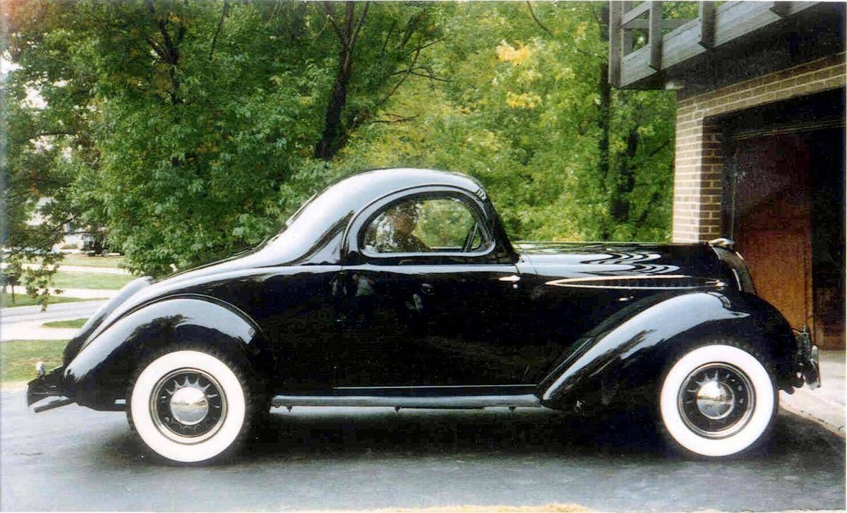 Classicmotortech Spectacular And Incredibly Rare 1936 Aero Dynamic Hupmobile Business Coupe By Raymond Loewy Beautiful Cars Classic Cars Cars