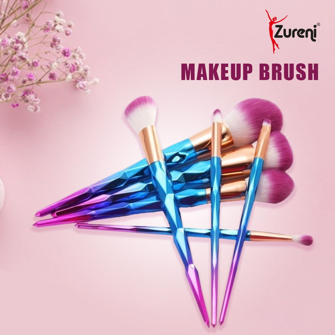 Zureni Unicorn Colorful Makeup Brushes 7Pcs Set is designed in a rainbow color and fashion style. Shine bright like a diamond to give yourself a new wonderful makeup experience.  #Zureni #Makeupbrusheskit #makeupbrushesset #brushset #makeupbrush #makeupbrushes #foundationbrush #makeupproducts #makeupessentials #makeupaccessories #groomingaccessories #groomingkit #facecleaningbrush #makeupcollection #makeuplovers #makeupbrand #makeupcommunity #makeupobsessed #makeupaddiction