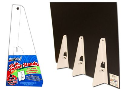 Use Poster Stands To Display Your Foam Board Poster Projects Peel Amazing Foam Board Display Stand