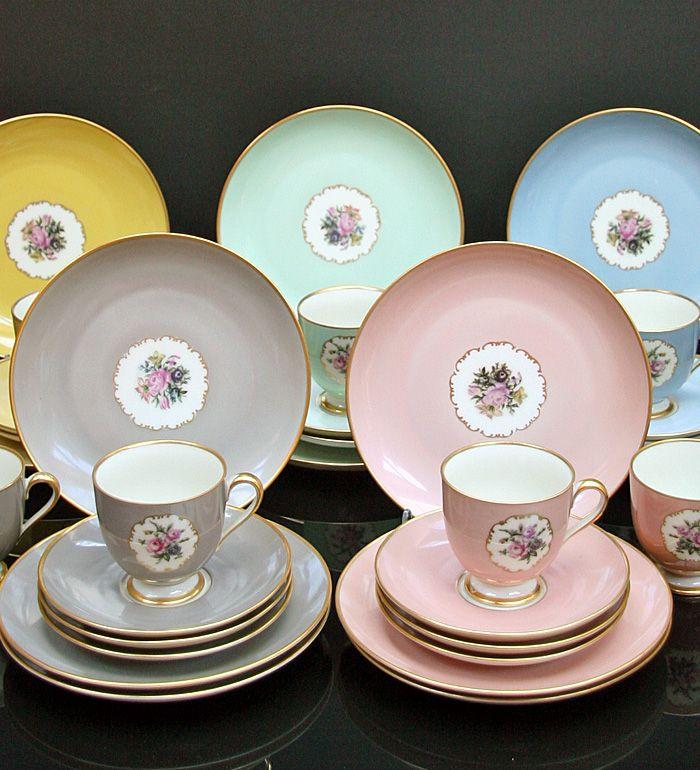 Fürstenberg Kaffeeservice für 12 Personen** Kaffee - Teeservice - edles geschirr besteck porzellan silber