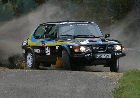 Image result for saab 99 rally car