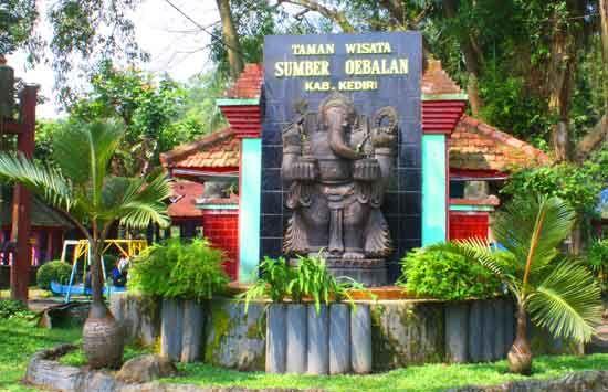 Taman Wisata Ubalan Kalasan Di Wates Kediri Jawa Timur