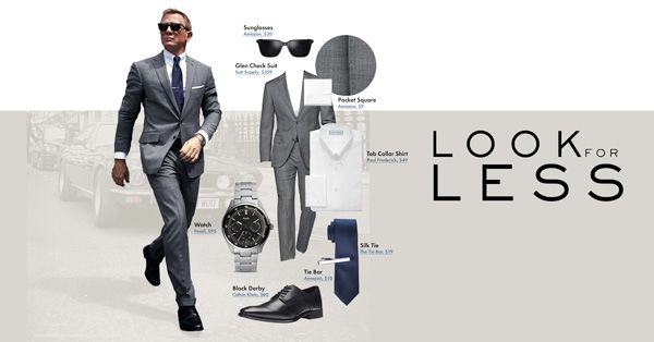 Look For Less Daniel Craig S Suit From No Time To Die