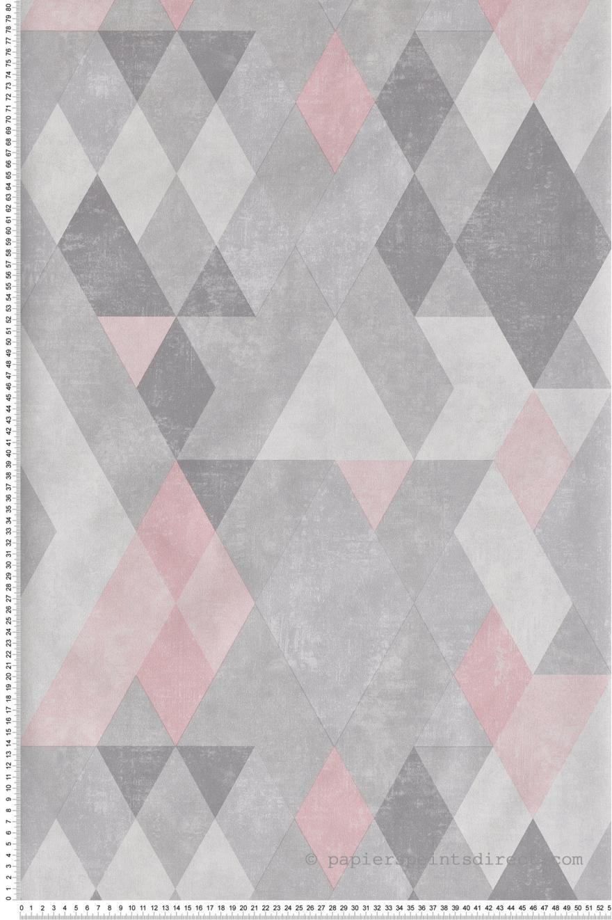 Papier Peint Geometrique Kaleidoscope Rose Hexagone D Ugepa Papier Peint Geometrique Papier Peint Motif Imprime