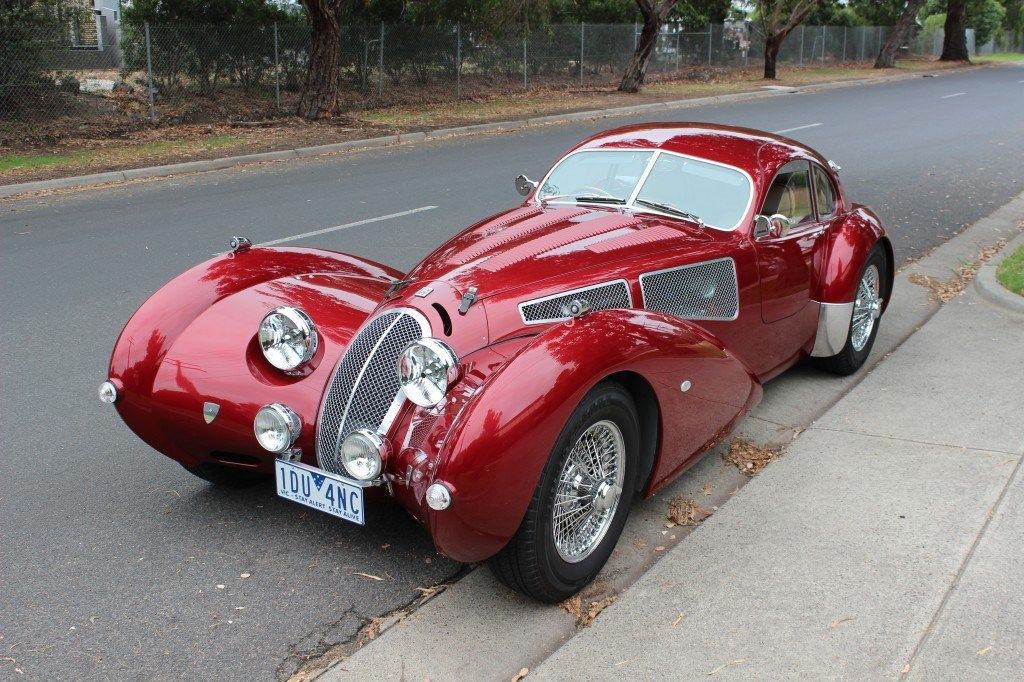 The Devaux Coupe is an Australian automobile built from