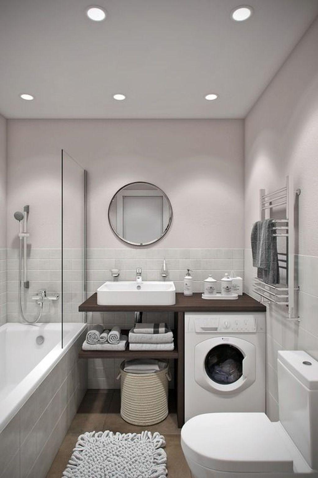 40 the best small bathroom design ideas to make it look larger id e salle de bain salle de