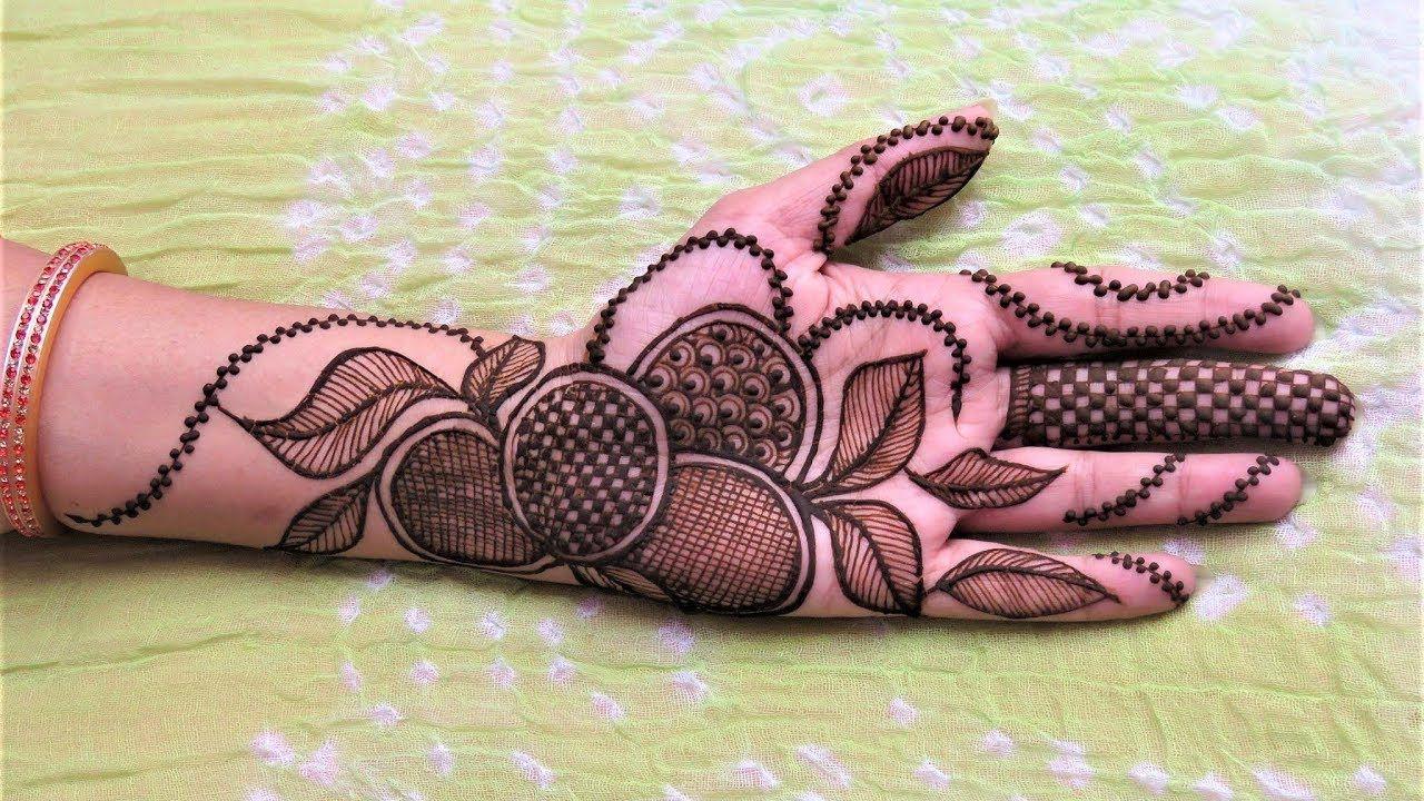 Henna Mehndi Latest Design : Latest henna mehndi designs for hands by jyoti sachdeva