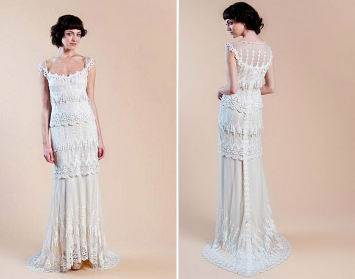 Wedding Dress Gowns Inspired By Downton Abbey